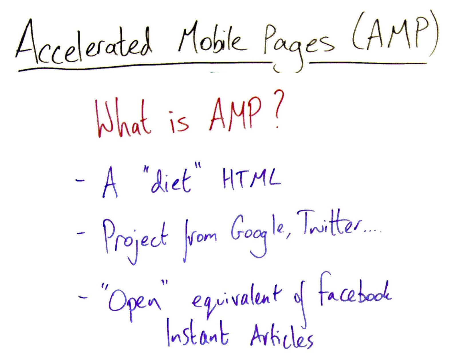 AMP PAGE RANKING BEGINS