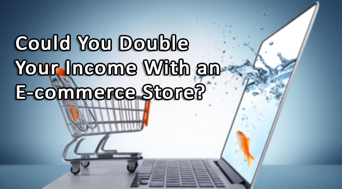 Could You Double Your Income With An E-commerce Store